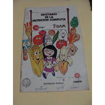 Libro Recetario De La Nutricion Completa Conasupo , 24 Pa