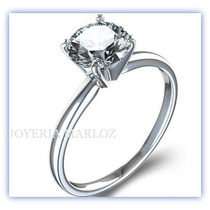 Anillos Compromiso Diamante Natural .20ct Gh-vs1 14kt -50%