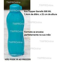 Tupperware - Eco Tupper Garrafa 500ml Turquesa