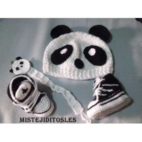 Gorro Tejido Crochet Bebe Niña Niño Adulto Zapato Bota