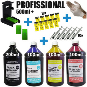 Snap Fill + 500ml Tinta P/ Hp 21 60 74 92 662 122 901 22 61