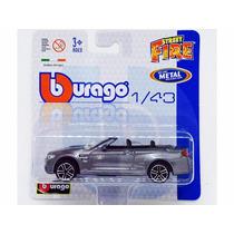 Miniatura Carro Bmw M4 Conversível Street Fire 1:43 Burago