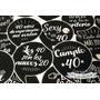 Props Cumple 40 Años Carteles Para Fotos Frases 10u.