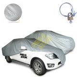 Capa Cobrir Carro Camionete S10 Cd 100% Forrada + Cadeado