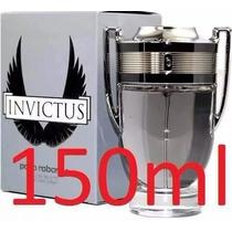 Perfume Invictus 150ml Paco Rabanne Original Novo Lacrado