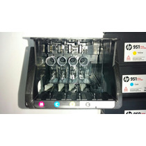 Cabeça De Impressão Hp 8100/8600 Com Cartuchos Setup Novos