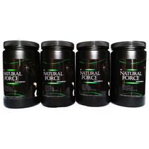 Proteína 60% Perro The Natural Force ® Oferta 4 Botes 1kg
