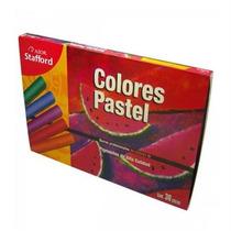 Aztecacompras Colores Pastel En Seco Stafford Estuche C/36