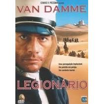 Dvd Legionario Van Damme - Original Lacrado