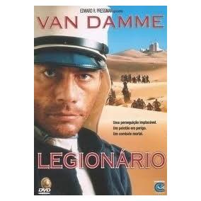 Dvd Legionario - Van Damme - Original Lacrado
