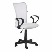Cadeira Escritorio Lost Secretária Giratória Branca + Nf