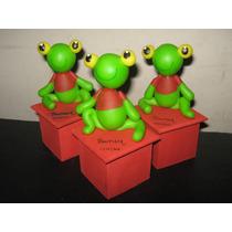 20 Souvenir-cajta Sapo Pepe En Porcelana Frìa!!!