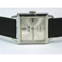 Reloj Benrus Vintage Shock Ab,17 Joyas Caja Laminada Oro 10k