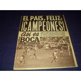 Boca Campeon 1965 !! Asi Es Boca N° 595 / 22 -12 - 1965