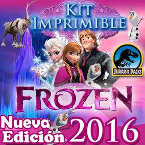 Kit Frozen Imprimible Personalizado Listo Para Imprimir