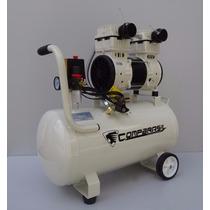 Compressor Odontológico 1 Consultório 50 Litros Isento Oleo
