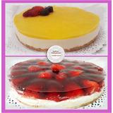 Torta Casera Muy Rica. Cheeseake. Chocolate. Lemon Pie