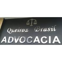 Números Letras Letreiro Fachada Em Aço Inox 40 Cm Promoção