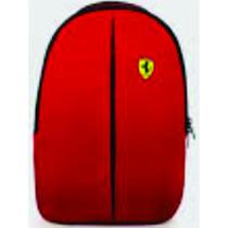 Mochila Ferrari /shell Original Verm Med 40 Cm X 30cm X10