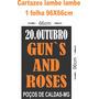 100 Cartaz Lambe-lambe 66 X 96 Cm - Duas Cores - Papel 75 Gr