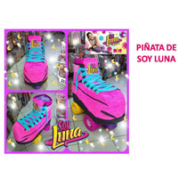 Piñata De Soy Luna, Chupetero, Figuras, Bienvenido, Etc.