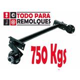 Eje Torsion Remolque - Trailer 4 Pernos 750 Kg Sin Freno