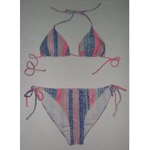 Bikini Trajes De Baño Dos Piezas Excelente Calidad Talla Xl