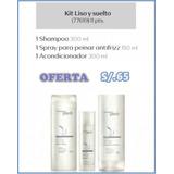 Kit Natura Liso Y Suelto Shampoo/acondic./spray