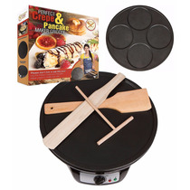 Crepera Perfect Crepe 12 Hotcakes 4.5 2 Planchas