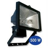 Reflector Proyector Cuarzo 500w Exterior - Incluye Lámpara
