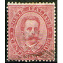 Italia Antiguo Sello Usado Rey Humberto I Años 1879-82