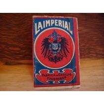 Antigua Caja De Cerillos La Imperial De Los 20