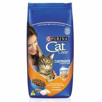 Ração Cat Chow Para Gatos Castrados 10 Kg