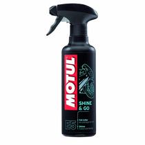 Motul E5 Shine & Go Spray Brilho Carenagem Moto 400ml