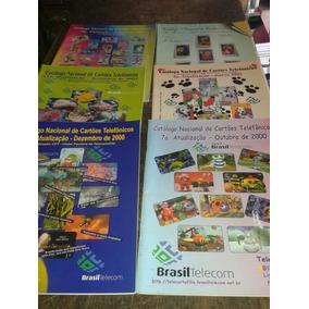 Catalogos Cartões Telefônicos- 7º,8º,9º, 11º, 18º E 19º.