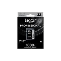 Memoria Lexar Professional Sdhc Uhs-ll 32gb 1000x 150mb/s