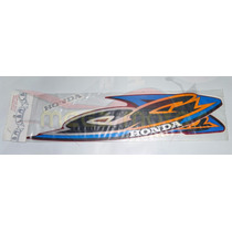 Jogo Kit Adesivos Cg Titan 125 2000 Es Vermelho - Lb00608