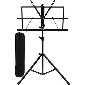 Estante Para Partitura Musica Pasta Pedestal Suporte