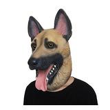 Máscara De Proa Halloweeen Traje De Perro De Pastor Alemán D