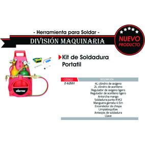 Kit De Soldadura Portatil, Taller, Antorcha