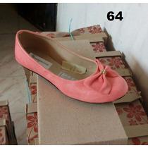 Zapatillas Tipo Bailarina Varios Colores