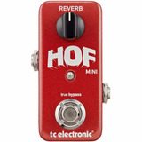 Pedal Guitarra Tc Electronic Hof Mini Reverb