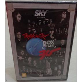 Dvd Rock In Rio 30 Anos Box Brasil Novo E Lacrado