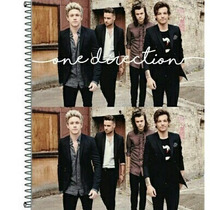 Caderno One Direction 1d 1 Materia