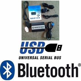 Auxiliar Mando Libre Bluetooth Usb Seat Cordoba 2003 A 2009