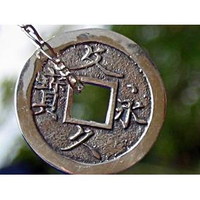 Dije De Plata Ley.925 Moneda Japonesa Era De Samurai 4 Mons