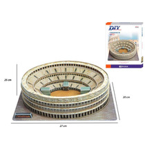 Rompecabezas 3d Coliseo De Roma