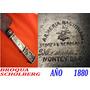 Cuchillo Año 1880 Sarandi 250 Armeria Nacional Plateria B&s