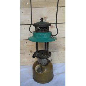 Antigua Lámpara A Kerosene Coleman Origen Canadá Decoración