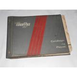 Catalogo Peças Originais Fiat Premio, Gasolina, Alcool